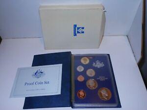 1987 RAM Royal Australia Mint Proof 7 Coin Set in folder