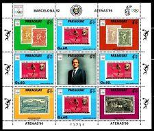 TEMA REY J.CARLOS I. PARAGUAY 2494a. BARCELONA 92-ATENAS 96