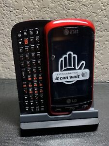 AT&T LG Xpression Red LG-C395 (Parts Only)