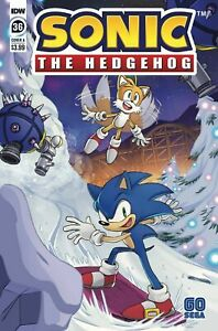 Sonic The Hedgehog #36 - IDW - Bagged & Boarded