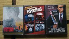 Psycho 6 Dvd Movie Collection > Psycho 1,2,3,4 Bates Motel, American Psycho