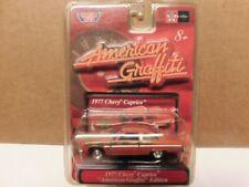 Motor Max - 1/64 -  1977 Chevy Caprice  - ( American Graffiti )   .