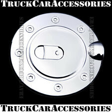 For GMC Yukon 1992-1994 1995 1996 1997 1998 1999 Chrome Gas Door Fuel Cap Cover