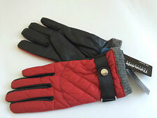 NWT POLO-RALPH LAUREN Diamond-Quilted Leather Driving Gloves$68  size:S-M