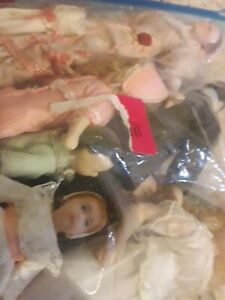 Bag Of Old Dolls House,mixed Dolly,s