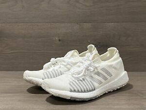 NEW Adidas PulseBoost HD  FU7344 Women Running Shoes White/Grey NEW BOOST Sz 7.5