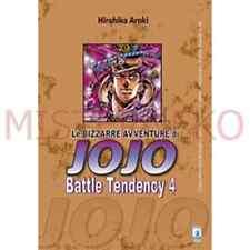Manga - Le Bizzarre Avventure Di Jojo Battle Tendency 4 - Star Comics