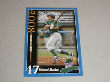 2008 Jamestown Jammers Team Set Card Giancarlo Mike Stanton FIRST RC ROOKIE 2010