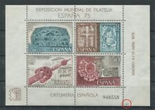 Spain bloque 19 error berilio ** mnh mirar!!! c2044