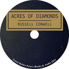 Acres of Diamonds, Russell Conwell Autobiograpy Baptist Audiobook on 1 MP3 CD