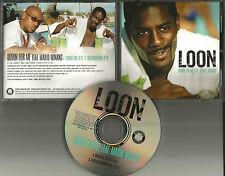 LOON w/ MARIO WINANS Down for me w/ RADIO EDIT & NSTRUMENTAL PROMO DJ CD Single