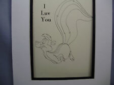 Pepe Le Pew is Love Sick for Penelope Looney Tunes Archives