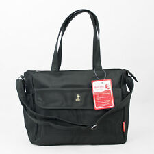 Bellotte Bear Tote Nappy Bag - Black