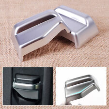 2x New Chrome Plated Interior B Pillar Seat Belt Frame Cover Trim fit Benz W212