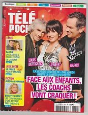 télé poche 2532 - 08/2014 - The Voice Kids - Brigitte Fossey - Zoo de la Flèche.