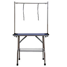 "36"" Pet Dog Portable Foldable Grooming Cleaning Trimming Washing Table"