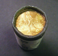 2005 Canada Terry Fox Marathon of Hope Loonie Roll (25 coins)  $1 coin Dollar