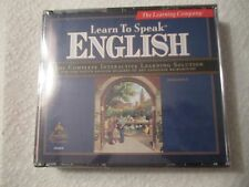 LEARN TO SPEAK ENGLISH 8.0 by The Learning Company/Windows 98/Me/95 NEW