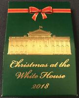 President Donald Trump White House Christmas 2018 Hersheys Kisses Candy USAF