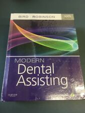 MODERN DENTAL ASSISTING - TEXTBOOK HARDCOVER AND WORKBOOK By Debbie S. VG