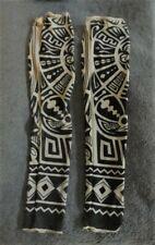Tattoo Sleeves Set Of 2 Arm Stockings Black Beige Design Halloween Costume