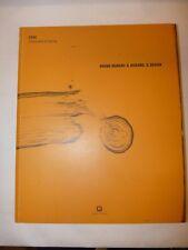 ARTE - BRUNO MUNARI: IL DISEGNO IL DESIGN 2008 Corraini Catalogo Tavole a Colori