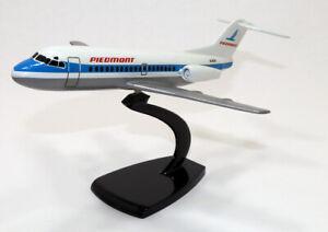 "mb 1/100 Fokker F28-1000 Passenger Jet Aircraft Piedmont  WS - 8.50"""