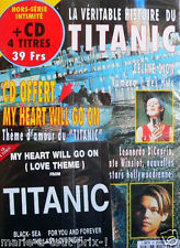 Magazine Collector film le TITANIC LEONARDO DI CAPRIO + CD NEUF COLLECTOR rare