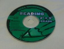 Skill Sharpeners Reading CD ROM 2nd & 3rd Grade (2002) Disc Only