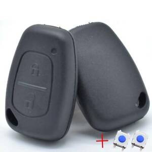 For Renault Kangoo Opel Movano 2004-2009 Car Remote Key Case Cover Auto Parts