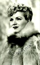 Beautiful CLAIRE TREVOR Signed Photo