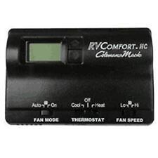 RVP 8330-3862 Coleman Mach Black Digital Wall Thermostat RV CAMPER TRAILER