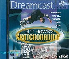 Sega Dreamcast Skateboarding Video Games with Manual