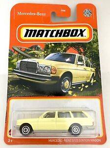 Matchbox #53 Mercedes-Benz S123 Station Wagon Yellow 1:64 Scale