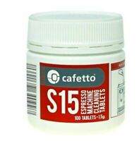 CAFETTO S15 Espresso Coffee Machine Cleaning Tablets Cleaner Automatic 100tablet