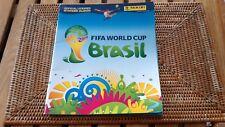 album Panini Brasil bresil Fifa World Cup 2014  avec 105 sticker vignettes