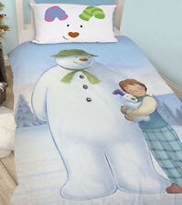 The Snowman and The Snowdog Single Bedding