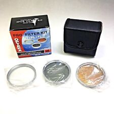 OPTEKA HD2 52mm Multi-Coated 3 Piece Filter Kit UV CPL FLD