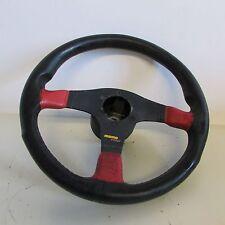Volante sterzo pelle MOMO Fiat Abarth/Lancia/Alfa Romeo D35 usato 5663 15-3-D-6