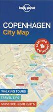 Lonely Planet Copenhagen City Map (Denmark) *FREE SHIPPING - NEW*