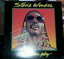 Stevie Wonder Signed Autograph COA Proof