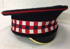 SCOTS GUARDS DRESS PEAKED CAP - Size: 55cm , British Army Issue