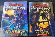 Goosebumps Horror Land Books