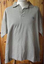 Wilson Deep Red 2140s Mercerized Cotton Short-Sleeved Khaki Polo Shirt - L-XL