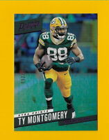 31879 TY MONTGOMERY 2017 PRESTIGE XTRA POINTS PURPLE #196 PACKERS #92/100🏈