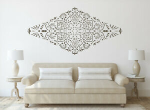 Diamond Stencil Mandala Large Wall Paint Furniture Home Reusable Crafts Art DL41