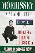 "MORRISSEY 1997 ""MALADJUSTED-IN CONCERT AT THE GREEK THEATRE"" LOS ANGELES POSTER"