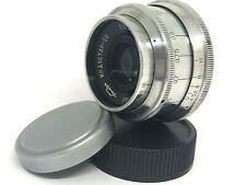 INDUSTAR 22 50mm f/3,5 M39 Lens Zenit SLR camera Red P KMZ Russian