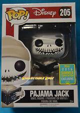 Nightmare Before Christmas Pajama Jack SDCC 2016 Pop Vinyl Funko 205