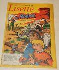 LISETTE N°15 du 14 avril 1957 : BABOUCHE et BABOUCHETTE - la Prairie - ZETTE